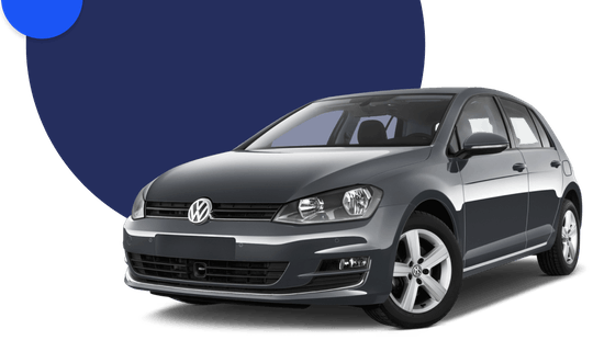 Black Volkswagen 1.4 Golf