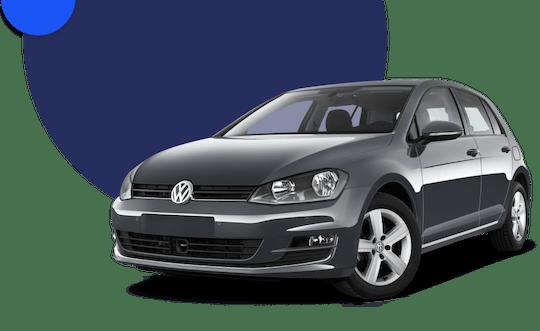 Black Volkswagen 1.4 Golf